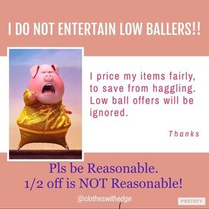 All reasonable offers will be def considered!